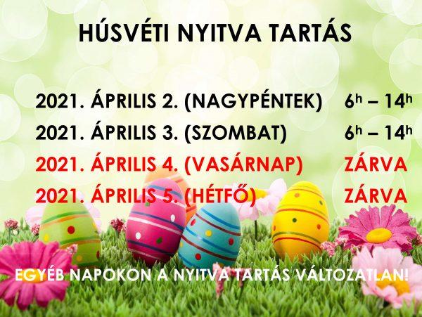 Csepeli Piac: Húsvéti nyitva tartás